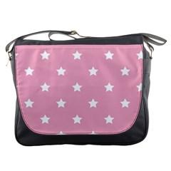 Stars Pattern Messenger Bags by Valentinaart