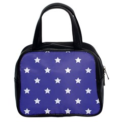Stars Pattern Classic Handbags (2 Sides) by Valentinaart