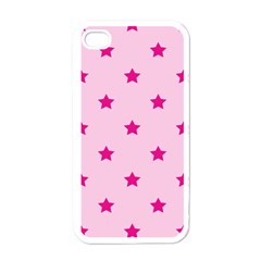 Stars Pattern Apple Iphone 4 Case (white) by Valentinaart