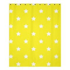 Stars Pattern Shower Curtain 60  X 72  (medium)  by Valentinaart