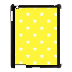 Stars Pattern Apple Ipad 3/4 Case (black) by Valentinaart