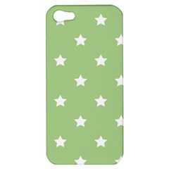 Stars Pattern Apple Iphone 5 Hardshell Case by Valentinaart