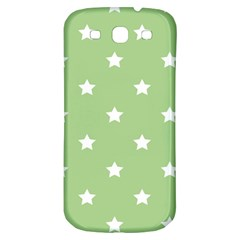 Stars Pattern Samsung Galaxy S3 S Iii Classic Hardshell Back Case by Valentinaart