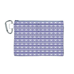 Pattern Canvas Cosmetic Bag (m) by Valentinaart