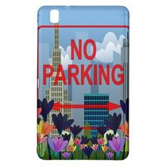 No Parking  Samsung Galaxy Tab Pro 8 4 Hardshell Case by Valentinaart
