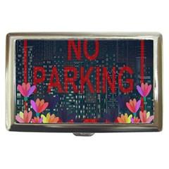 No Parking  Cigarette Money Cases by Valentinaart