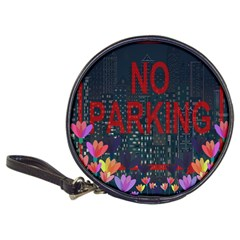 No Parking  Classic 20 Cd Wallets by Valentinaart