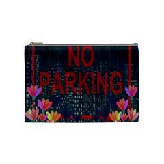 No Parking  Cosmetic Bag (medium)  by Valentinaart