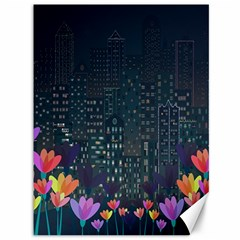 Urban Nature Canvas 36  X 48   by Valentinaart