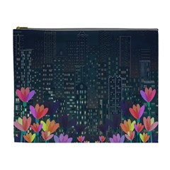 Urban Nature Cosmetic Bag (xl) by Valentinaart