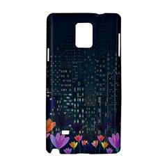 Urban Nature Samsung Galaxy Note 4 Hardshell Case by Valentinaart