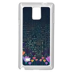 Urban Nature Samsung Galaxy Note 4 Case (white) by Valentinaart