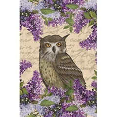 Vintage Owl And Lilac 5 5  X 8 5  Notebooks by Valentinaart
