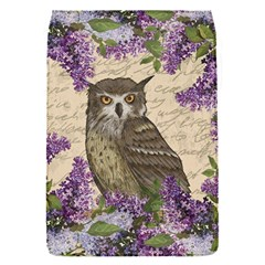 Vintage Owl And Lilac Flap Covers (s)  by Valentinaart