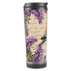 Vintage Bird And Lilac Travel Tumbler by Valentinaart