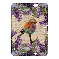 Vintage Bird And Lilac Kindle Fire Hdx 8 9  Hardshell Case by Valentinaart