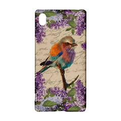 Vintage Bird And Lilac Sony Xperia Z3+ by Valentinaart
