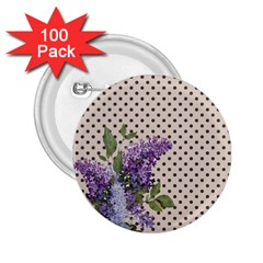 Vintage Lilac 2 25  Buttons (100 Pack)  by Valentinaart