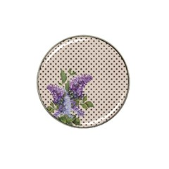 Vintage Lilac Hat Clip Ball Marker (10 Pack) by Valentinaart