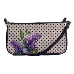 Vintage Lilac Shoulder Clutch Bags by Valentinaart