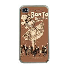 Bon Ton Apple Iphone 4 Case (clear) by Valentinaart