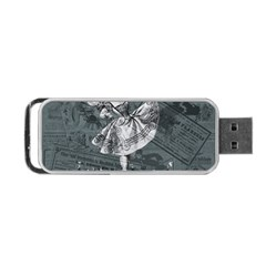 Bon Ton Portable Usb Flash (two Sides) by Valentinaart