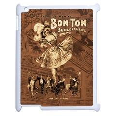 Bon Ton Apple Ipad 2 Case (white) by Valentinaart