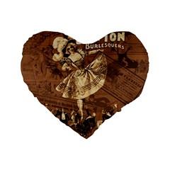 Bon Ton Standard 16  Premium Heart Shape Cushions by Valentinaart