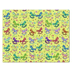 Toys Pattern Rectangular Jigsaw Puzzl by Valentinaart
