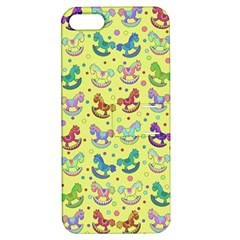 Toys Pattern Apple Iphone 5 Hardshell Case With Stand by Valentinaart