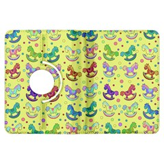 Toys Pattern Kindle Fire Hdx Flip 360 Case by Valentinaart