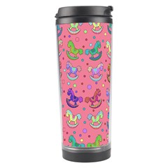 Toys Pattern Travel Tumbler by Valentinaart