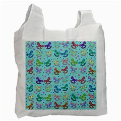 Toys pattern Recycle Bag (Two Side)  by Valentinaart