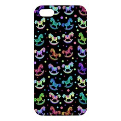 Toys Pattern Iphone 5s/ Se Premium Hardshell Case by Valentinaart