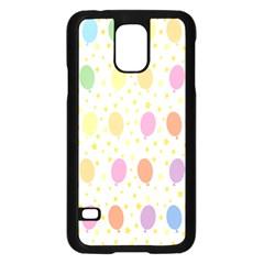 Balloon Star Rainbow Samsung Galaxy S5 Case (black) by Mariart