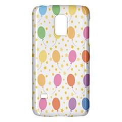 Balloon Star Rainbow Galaxy S5 Mini by Mariart