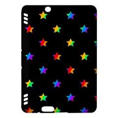 Stars Pattern Kindle Fire Hdx Hardshell Case by Valentinaart