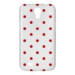 Flower Floral Polka Dot Orange Samsung Galaxy Mega 6 3  I9200 Hardshell Case by Mariart