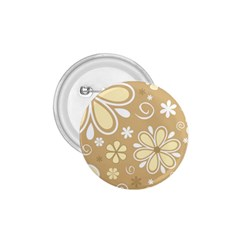 Flower Floral Star Sunflower Grey 1 75  Buttons by Mariart