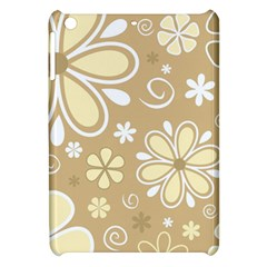 Flower Floral Star Sunflower Grey Apple Ipad Mini Hardshell Case by Mariart