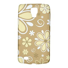 Flower Floral Star Sunflower Grey Galaxy S4 Active by Mariart