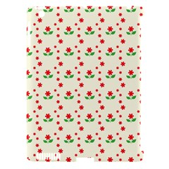 Flower Floral Sunflower Rose Star Red Green Apple Ipad 3/4 Hardshell Case (compatible With Smart Cover) by Mariart