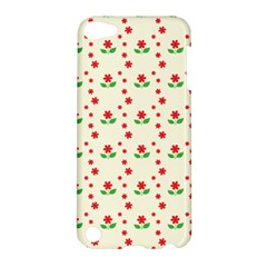 Flower Floral Sunflower Rose Star Red Green Apple Ipod Touch 5 Hardshell Case by Mariart