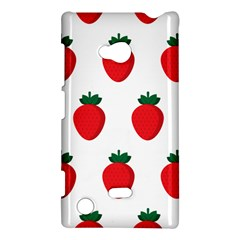 Fruit Strawberries Red Green Nokia Lumia 720 by Mariart