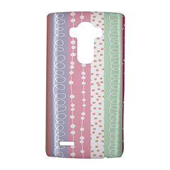 Heart Love Valentine Polka Dot Pink Blue Grey Purple Red Lg G4 Hardshell Case by Mariart