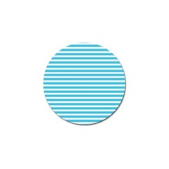 Horizontal Stripes Blue Golf Ball Marker (10 Pack) by Mariart