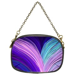 Color Purple Blue Pink Chain Purses (one Side)  by Mariart