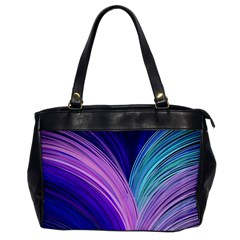 Color Purple Blue Pink Office Handbags by Mariart