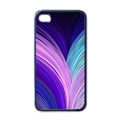 Color Purple Blue Pink Apple Iphone 4 Case (black) by Mariart
