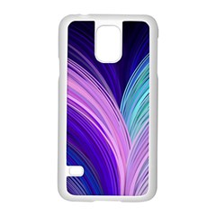 Color Purple Blue Pink Samsung Galaxy S5 Case (white) by Mariart